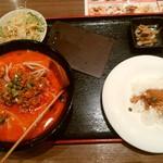 48656017 - 【2016.3.16(水)】ランチ定食(7:担々麺セット)880円