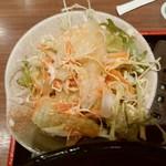 48656034 - 【2016.3.16(水)】ランチ定食の野菜サラダ