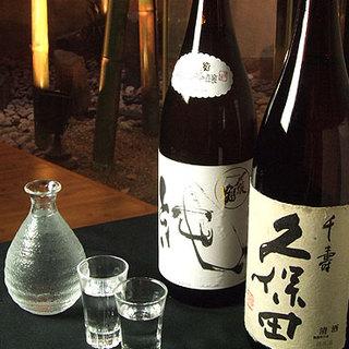 ●選りすぐりの日本酒●江戸発祥の地酒から季節の地酒まで