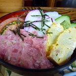 石松 - ミックス丼定食