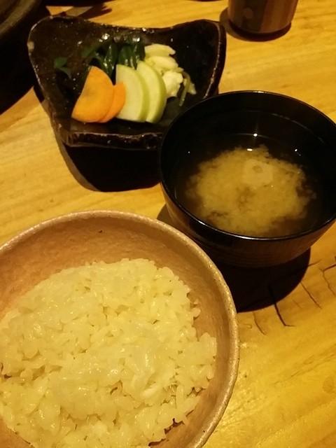 鯛めし 銀まる - 鯛めし&お味噌汁&お漬物♪