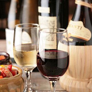 *☆ワイン40種類以上常備☆*