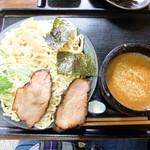 龍江 - 料理写真:つけ麺大盛+Cセット