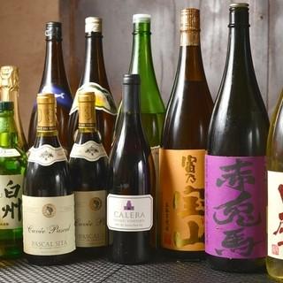 生ビール・ワイン・焼酎など・・・