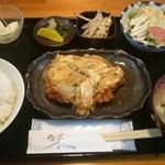 ほてい - 料理写真:カツとじ定食680円