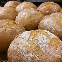 パン アトリエ クレッセント  - おなばけ全粒粉70%入りの「おなばけ石臼挽き全粒粉ブール」