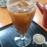 大村庵 - アイスコーヒー。
