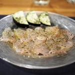 ポトフ料理ジョワ - カサゴのカルパッチョ