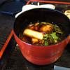 そば切り 稲美 - 料理写真:鴨汁。鴨が炙ってあるから美味しい。 (>_<)