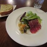 トラットリアイルティレーノ - 前菜