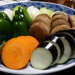 若柳 - ☆お野菜もたっぷりあります☆