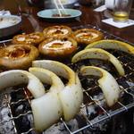 若柳 - ☆お野菜も焼き焼き☆