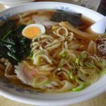 あずま食堂 - ワンタン麺