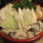 かき金 - 土手鍋(2016年2月)