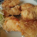 天然温泉蓬莱乃湯 お食事処 - 料理写真:まぐろカツ