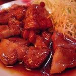 食事処 かなせ - 料理写真:豚ロースの照り焼き