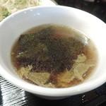新潟バル 醸造屋 - スープ