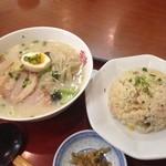 双喜亭 - 昨日のお昼
