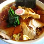 北斗 - 料理写真:生姜醤油ラーメン