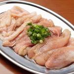 朱々 - 国産鶏三種盛り