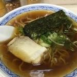 三松 - ラーメン400円