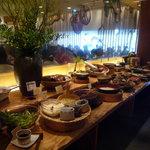 自然食バイキング はーべすと - 和食系、野菜中心のお惣菜がたくさん♪