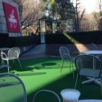 cafe HIBIKI - 丁度日陰で良かったです