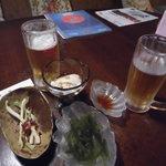 琉球の風 波照間 - 3本柱は島らっきょう、海ぶどう、ジーマミー豆腐~オリオンビール生中は欠かせない!2016年