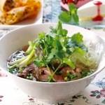 cafe' すむな-か - 料理写真:ベトナム牛肉フォー(phở bò)