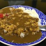 白樺食堂 - 得々満腹セット Cセット 680円 (カレーライス&ラーメン) カレーライス