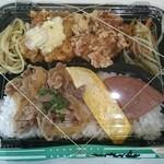 若軍鶏 - からあげ&チキン南蛮のお弁当¥400