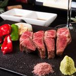 鉄板焼 曉 - 高森和牛ステーキ