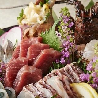 接待や会食に!活魚や四季折々の旬の味覚をご堪能ください!