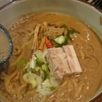 麺屋 潤焚 - 赤味噌