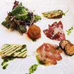 ア ピアチェーレ - おすすめ前菜 5種類の盛り合わせ