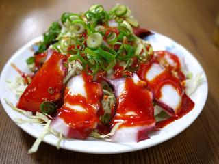 蛸虎 本店 - 蛸珍味(600円)
