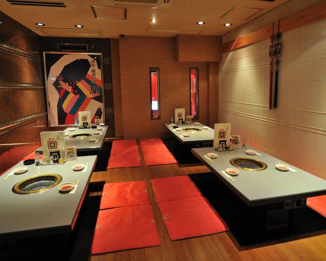 焼肉・韓国料理 蘭 - 25名様宴会ができる大座敷