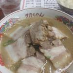 48711236 - チャーシュー麺
