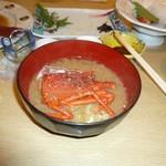 伊豆まつざき荘 - 伊勢海老の頭は、味噌汁にしてくれます