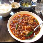 中国料理 四川  - セレクトランチ 四川麻婆豆腐