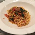 一汁三菜イタリア~の - パスタ トマトソース