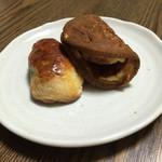 御菓子司 東海 - レーヅン饅頭¥200、ワッフル¥200