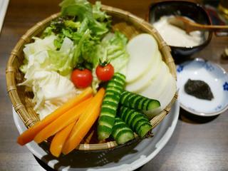 ぼんちゃん - 農村のサラダ ¥600