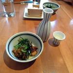 酒肴蕎麦 日和り - 昼呑みセット650円