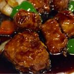 蓮台寺飯店 - 黒酢豚