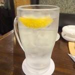 くしかんざし - レモン酎ハイ