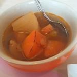48716427 - 具がごろごろ野菜スープ