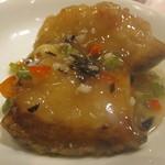 48716751 - 白身魚の甘酢 にんにく風味
