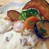 氣くらし - 料理写真:帆立と野菜のクリーム煮(バターライス付き)1030円