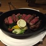 48718299 - 熟成肉ステーキ サーロイン450g4480円